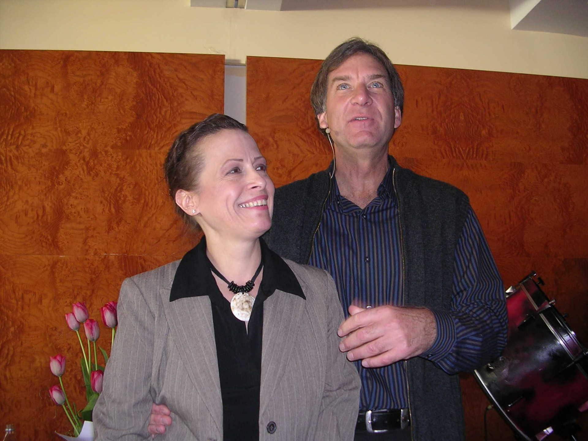 ג'פרי הופ ואישתו לינדה